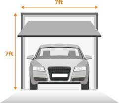 Single Garage Door Sizes (One Car)